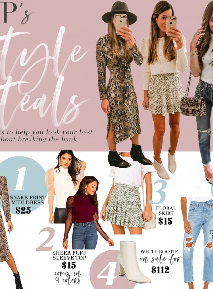 saturday style steals