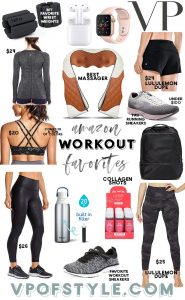 AMAZON WORKOUT FAVORITES FOR A FIT START TO THE NEW YEAR