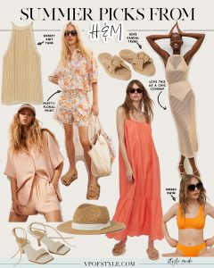 SUMMER 2021 FASHION PICKS FROM H&M