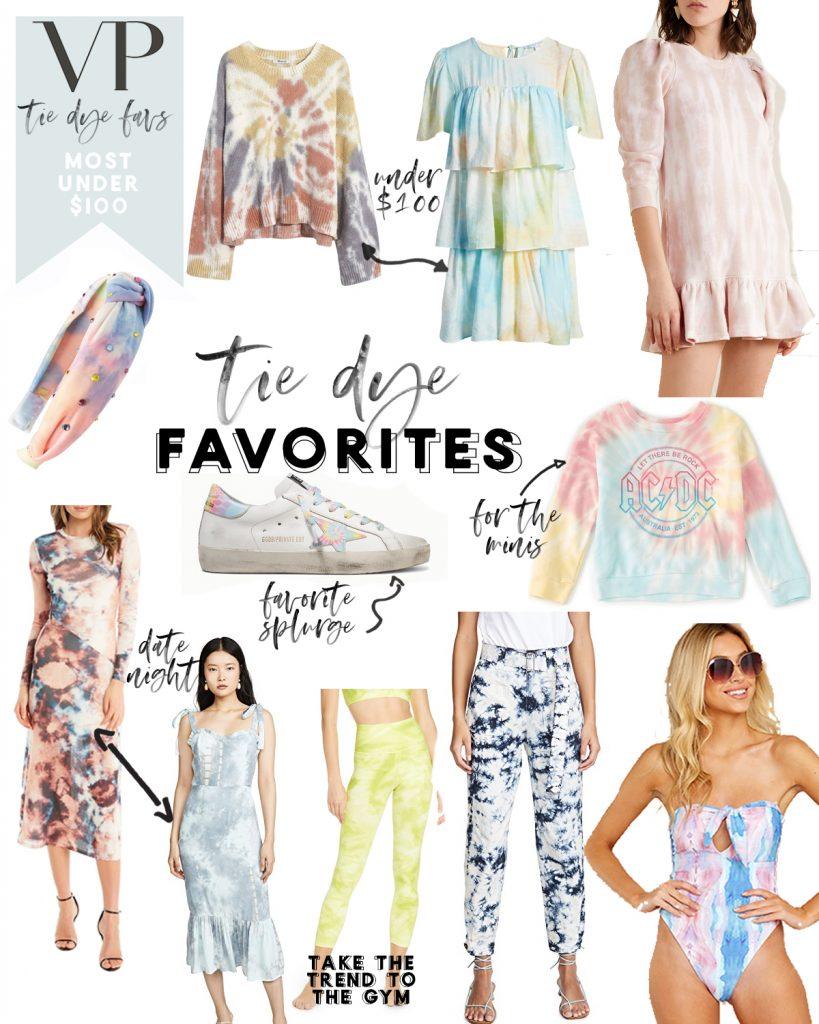 tie dye fashion trends top picks