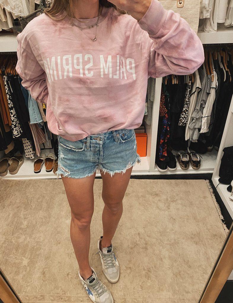 tie dye sweatshirt target Palm Springs