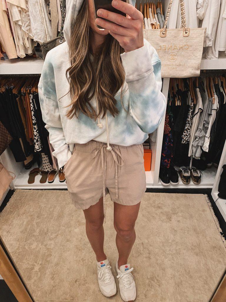 tie dye hoodie loungewear
