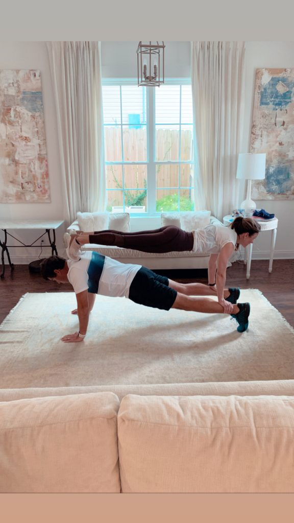couples yoga workout moves