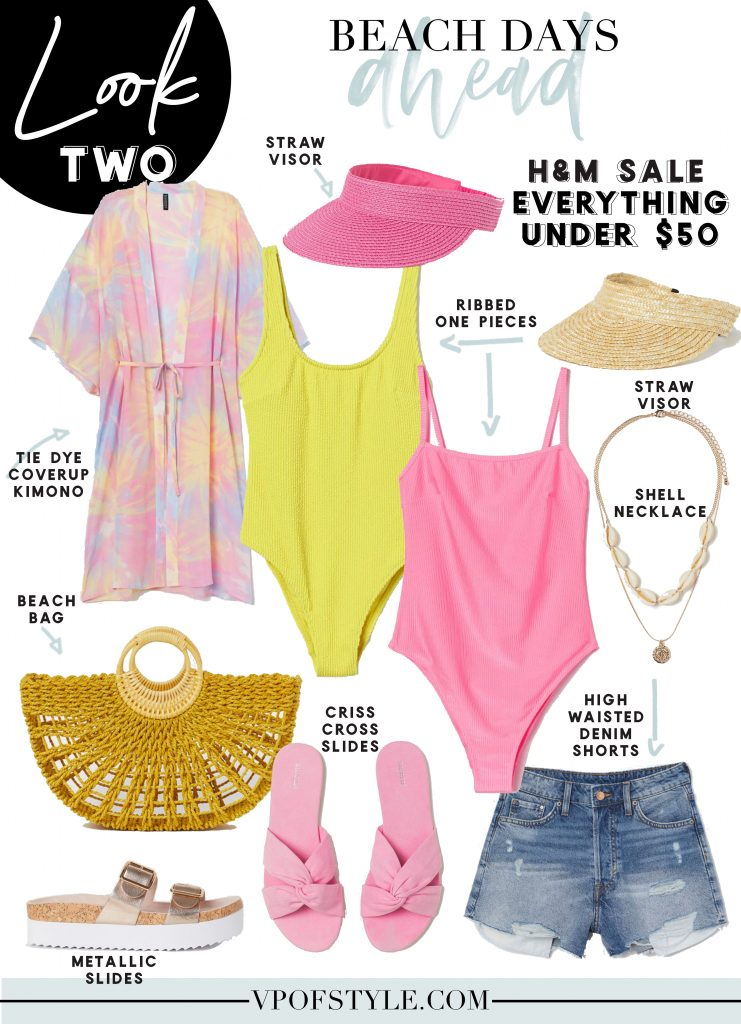 hm spring flash sale beach day look 2