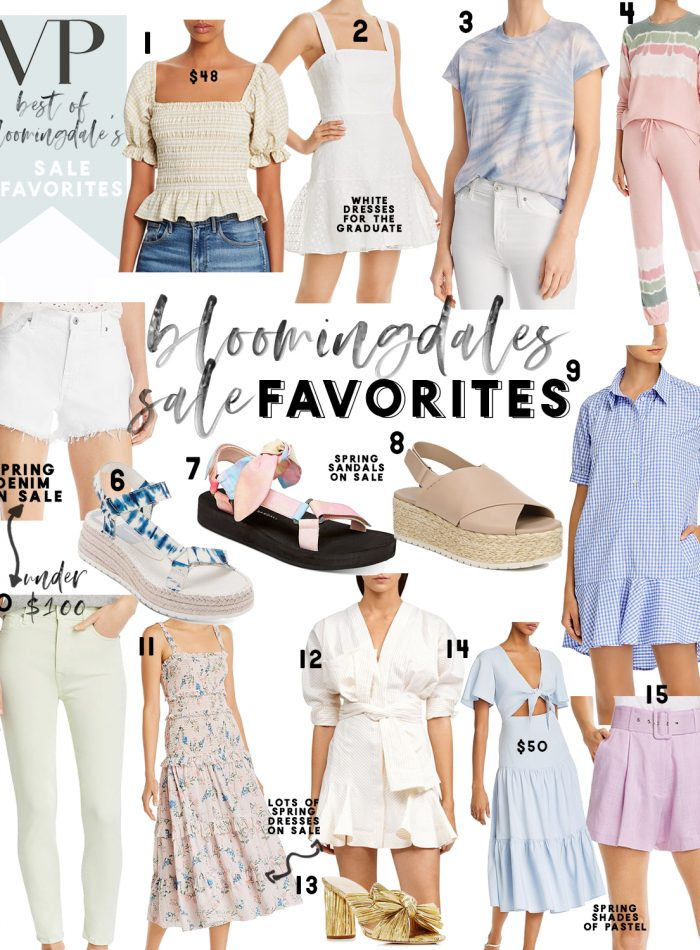 Bloomingdale's spring sale favorites
