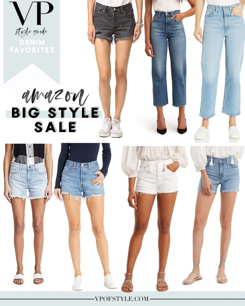 Amazon fashion big style sale denim favorites under $100