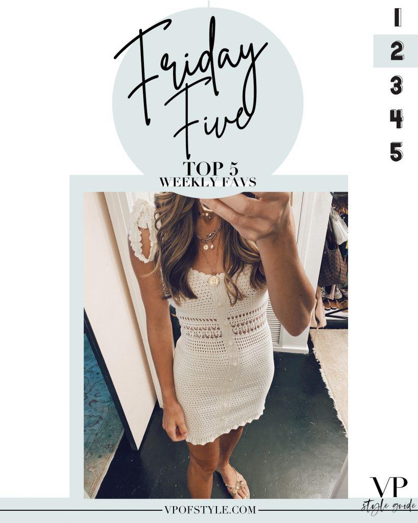 Friday five target crochet dress