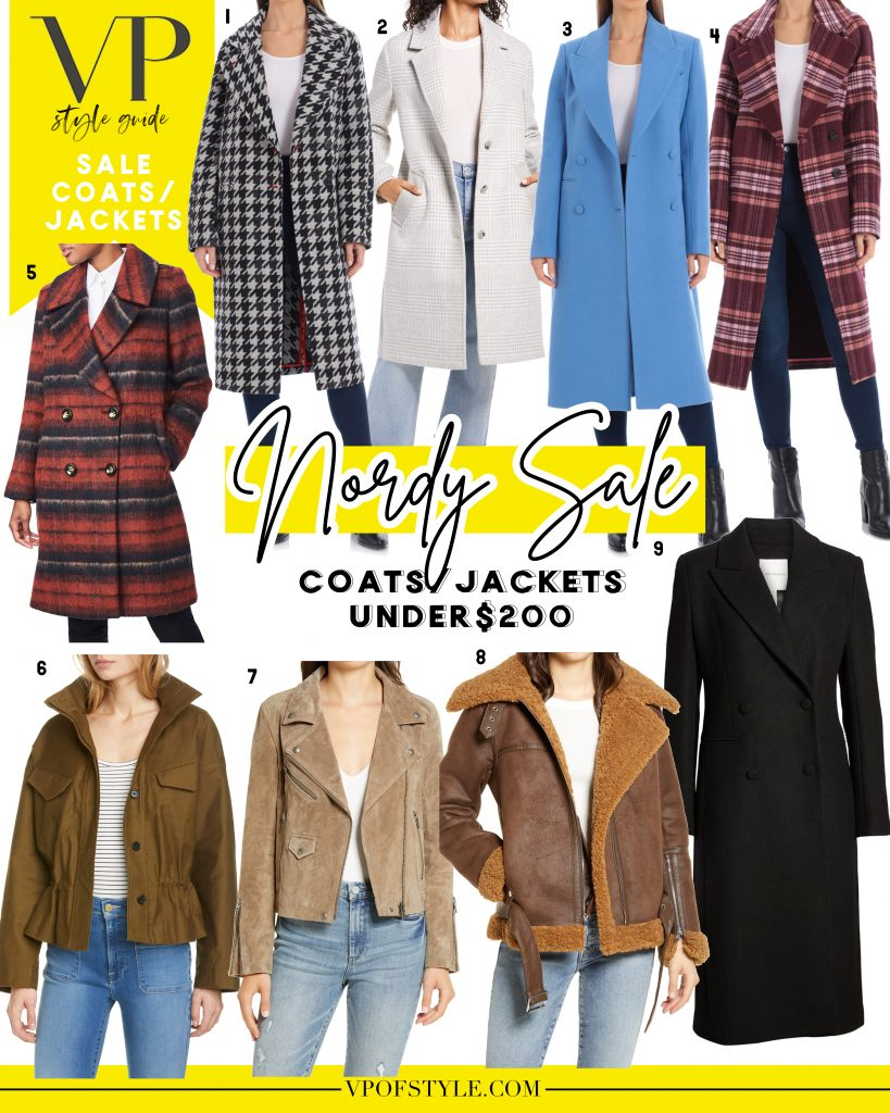 nordstrom anniversary sale coats under 200