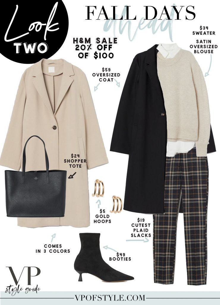 H&M Fall outfit ideas from the H&M sale