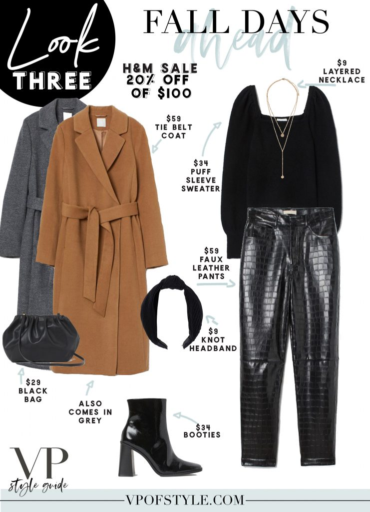outfit ideas from the H&M sale Fall 2020