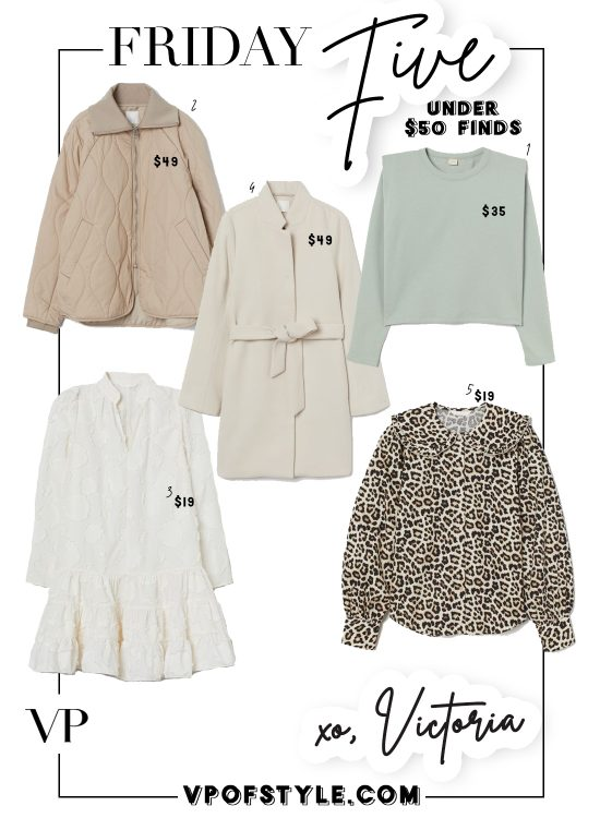 under $50 fashion finds