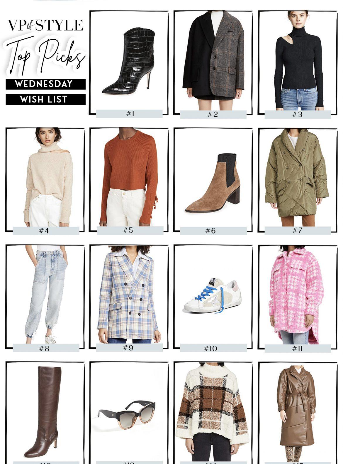 shopbop fall 2020 event sale top picks
