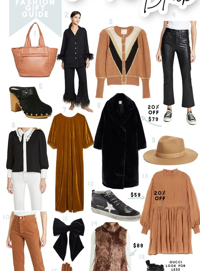 fashion gift guide fashion picks