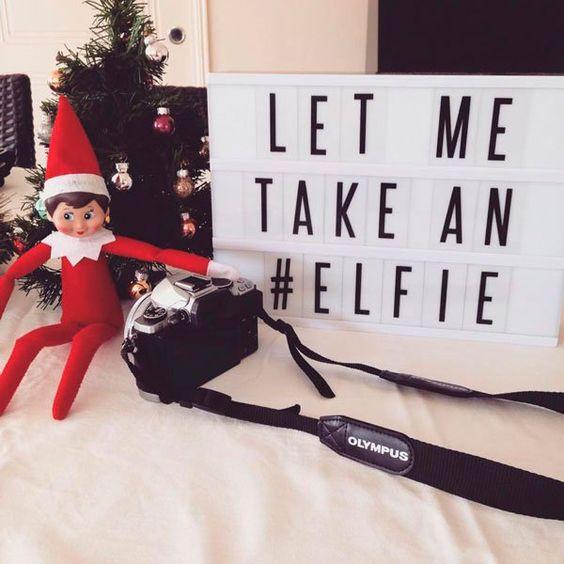 selfie elf