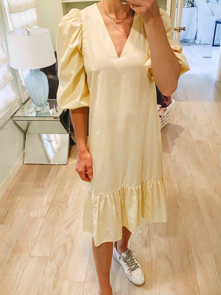 target yellow summer dress