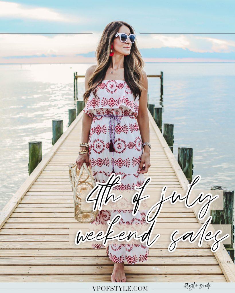 4th of July weekend sales