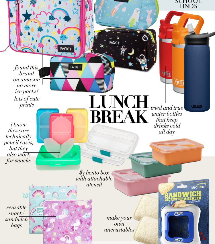 back to school finds lunch