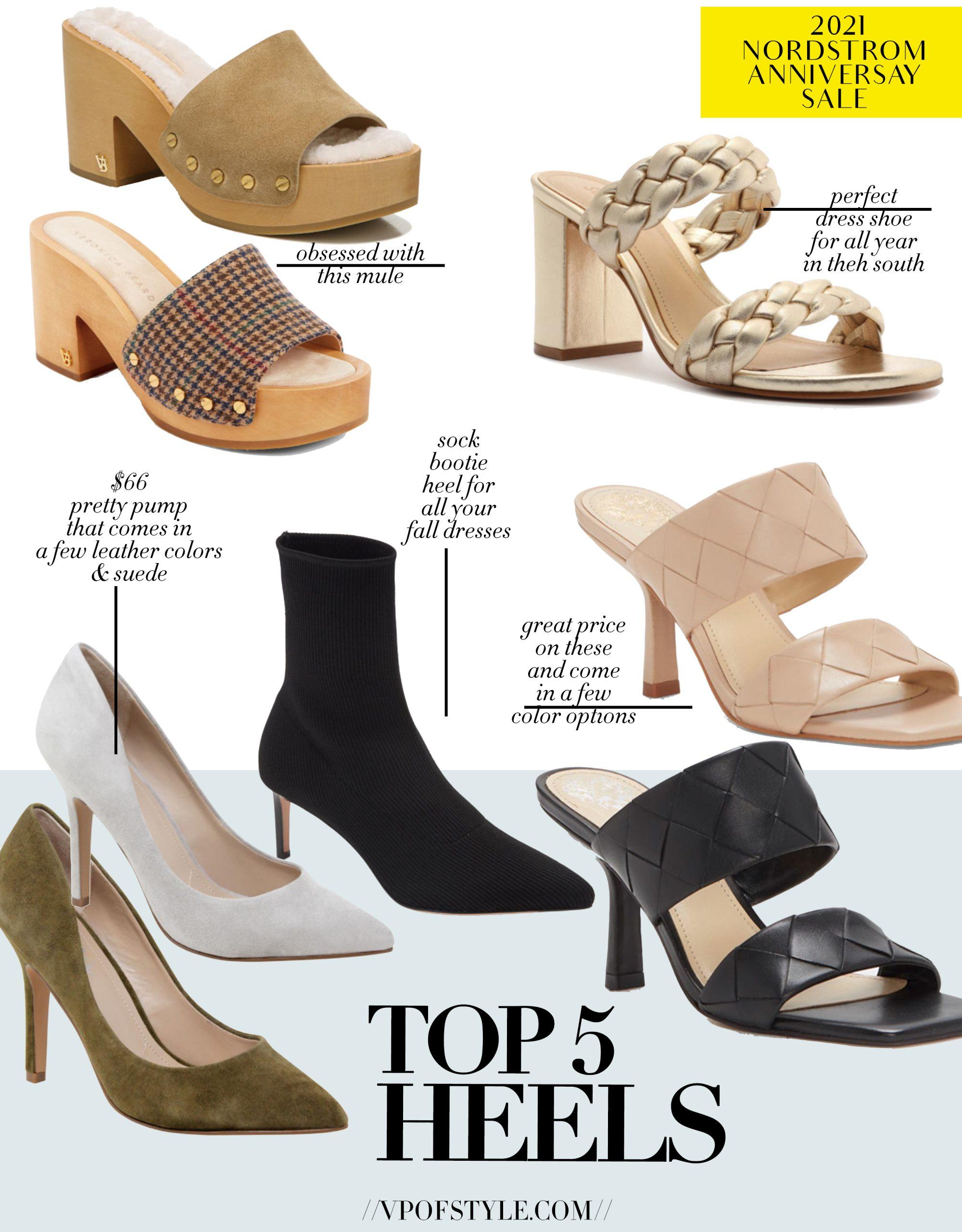 Nordstrom Anniversary Sale top 5 heel picks