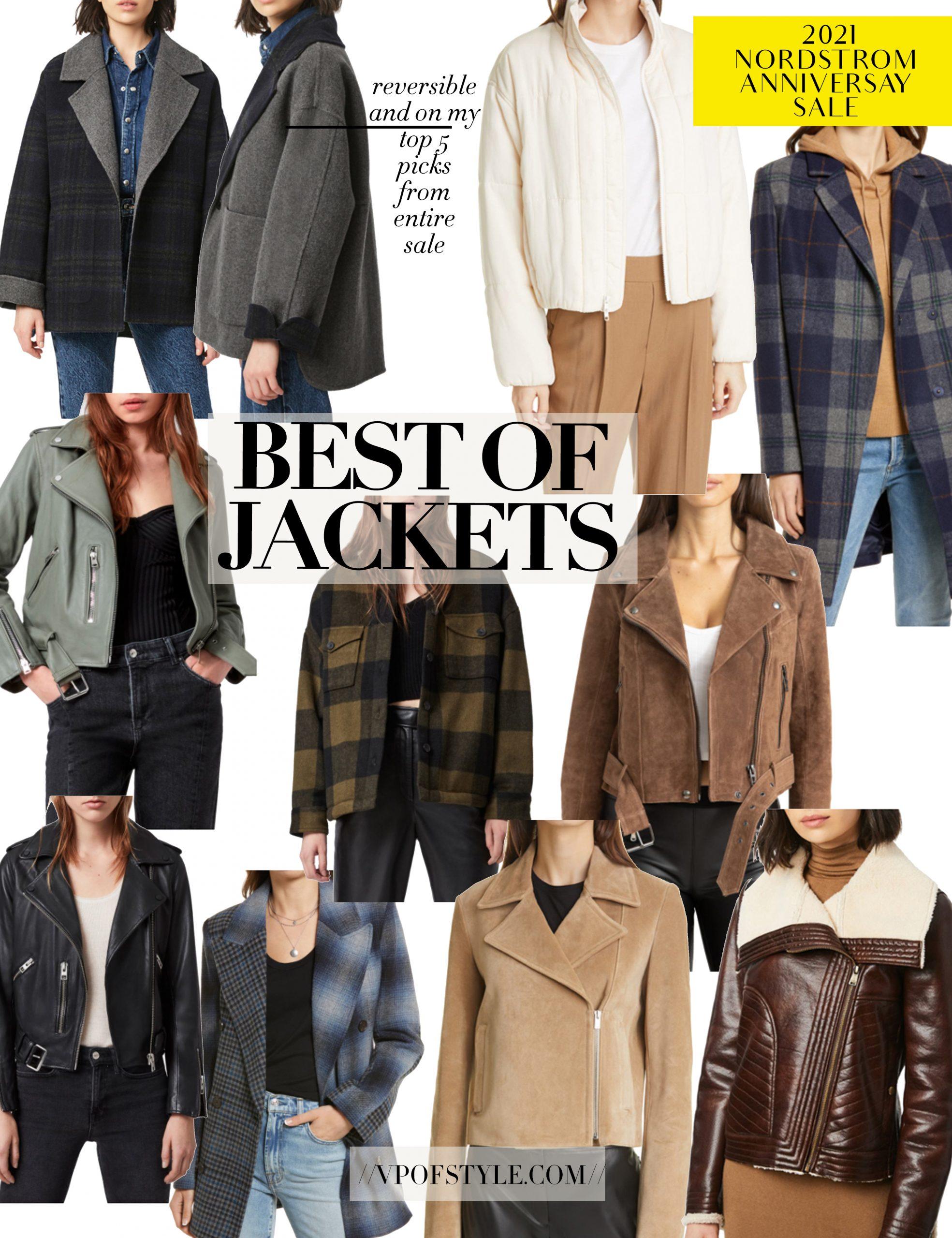 Nordstrom Anniversary Sale top jacket picks