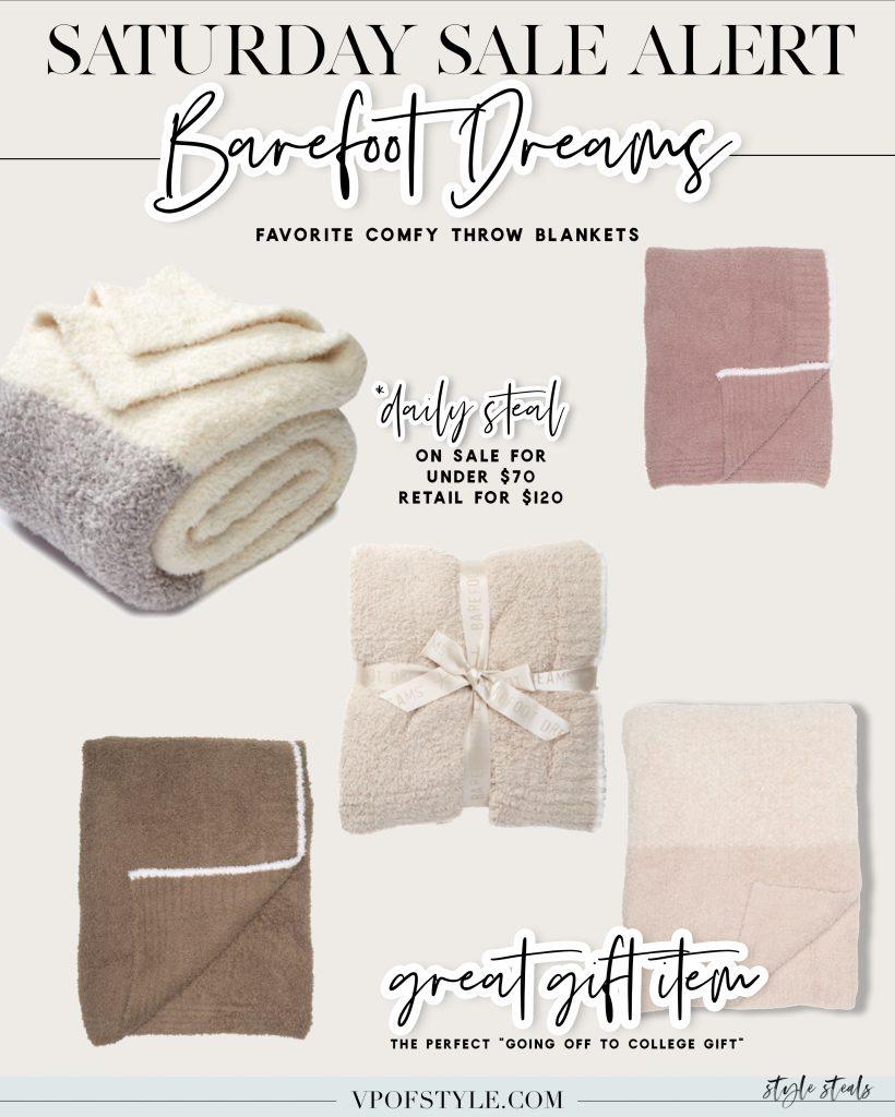 barefoot dreams blanket sale